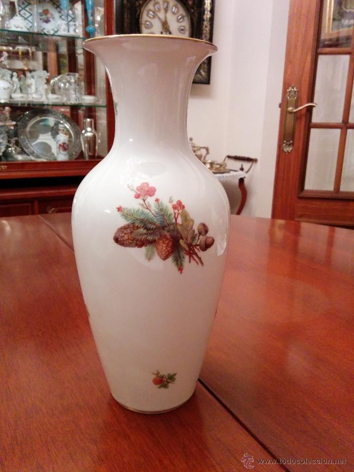 Antigüedades: Precioso jarròn Rosenthal, Alemania, principios del XX. - Foto 2 - 47332214