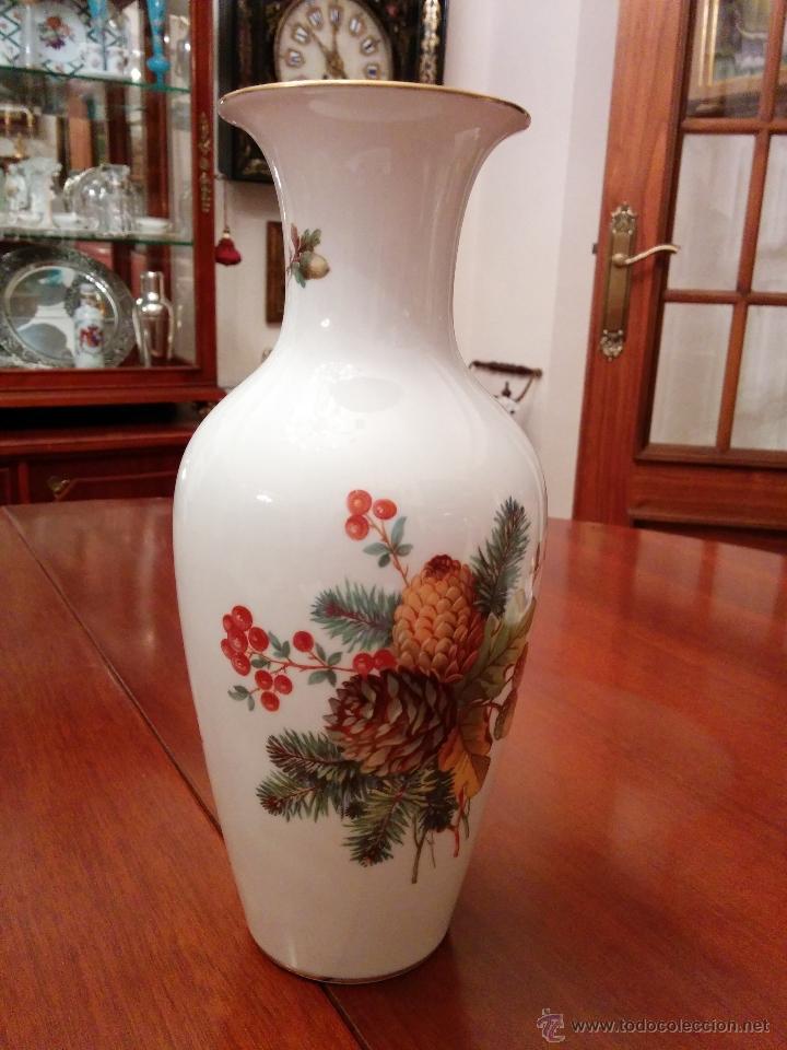 Antigüedades: Precioso jarròn Rosenthal, Alemania, principios del XX. - Foto 3 - 47332214