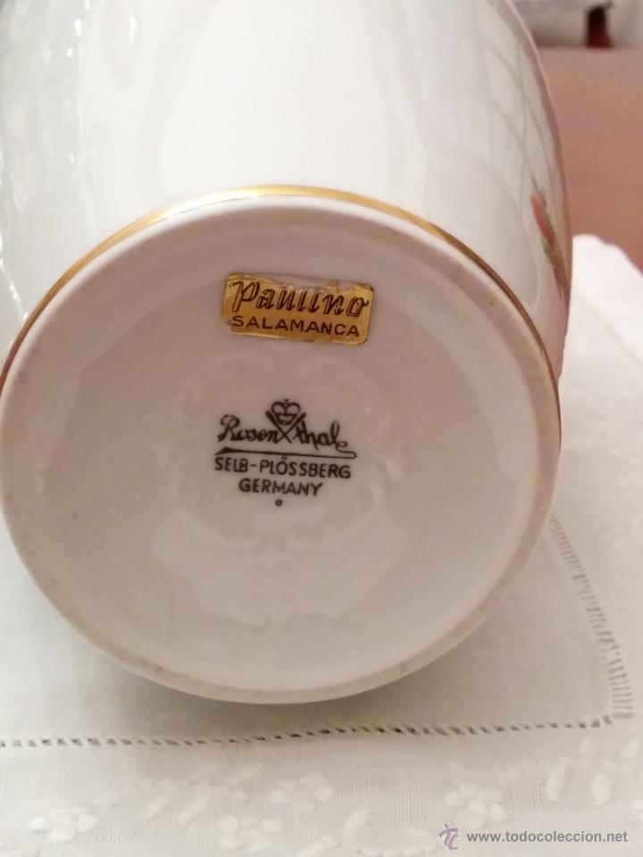 Antigüedades: Precioso jarròn Rosenthal, Alemania, principios del XX. - Foto 4 - 47332214
