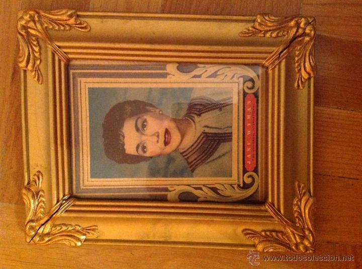 Antigüedades: Antiguo Porta fotos en pan de oro - Foto 4 - 47333269
