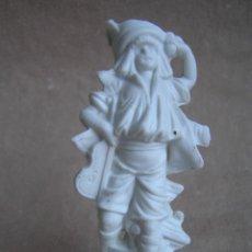 Antigüedades: BISCUIT FIGURA MÚSICO VIOLINISTA . S XIX. NUMERADO. MUY BONITO.. Lote 47336485