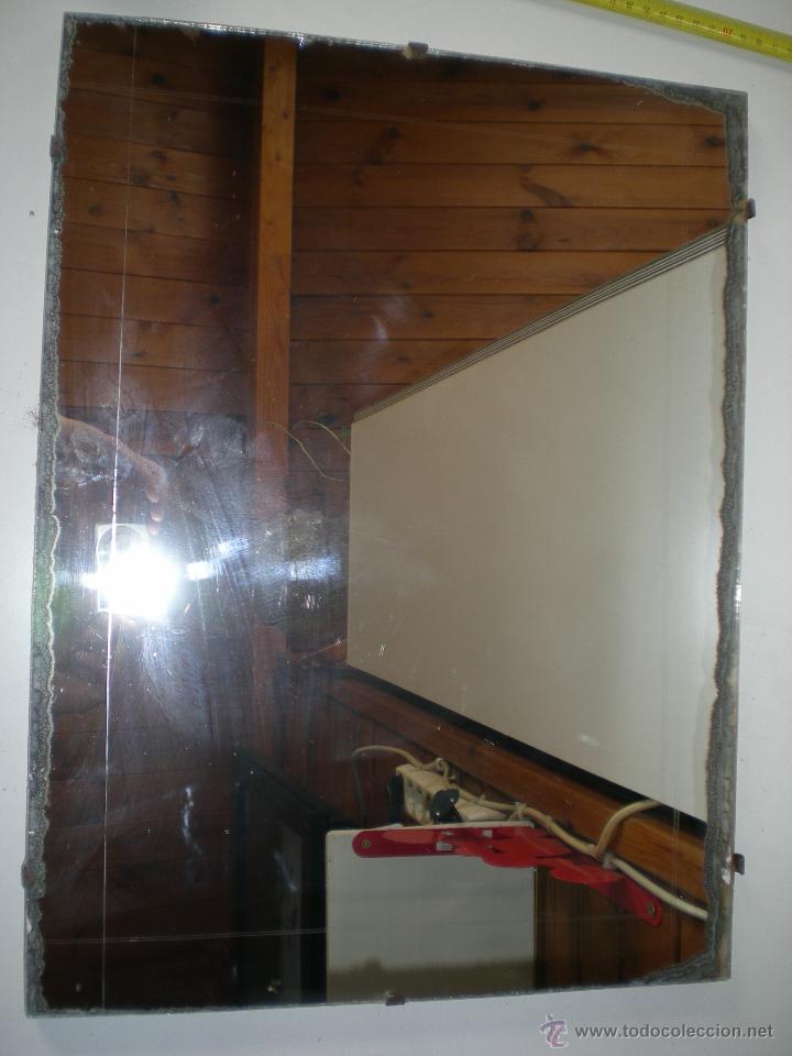 Espejo de ba o de colgar a os 50 60 medidas en comprar - Espejos antiguos de pared ...