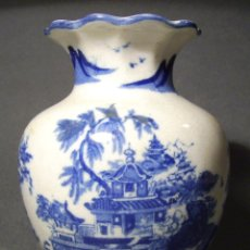 Antigüedades: BELLO JARRÓN PORCELANA XX . Lote 53717858