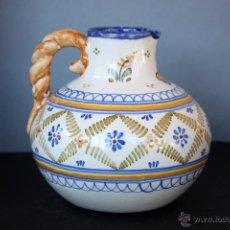 Antigüedades: JARRA CERÁMICA DE TALAVERA DE LA REINA, ASA ENTORCHADA. Lote 47360645