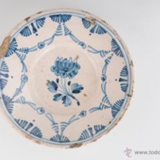 Antigüedades: ANTIGUO PLATO EN CERAMICA CATALANA CIRCA 1900. Lote 47361563