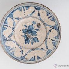 Antigüedades: ANTIGUO PLATO EN CERAMICA CATALANA CIRCA 1900. Lote 47361912