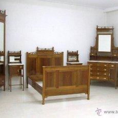 Antigüedades: DORMITORIO MODERNISTA. Lote 47364128
