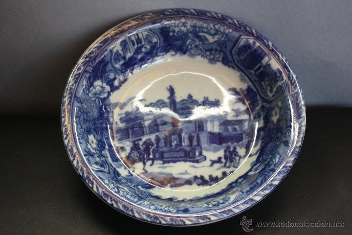 Antigüedades: Jarra y plato de cerámica inglesa (Victoria Ware ironstone) - Foto 8 - 47372395