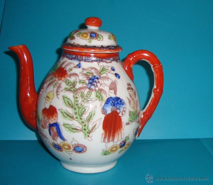 Antigüedades: JARRA TETERA DE PORCELANA CHINA - Foto 2 - 47378490