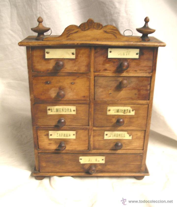 Mueble cajonera especiero todo de origen med comprar - Todo muebles online ...