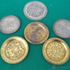 Antigüedades: LOTE DE PLATOS PEQUEÑOS. Lote 47396206