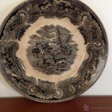 Antigüedades: PLATO LA AMISTAD CARTAGENA. Lote 47408566