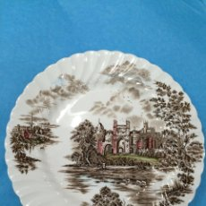 Antigüedades: PLATO DE PORCELANA INGLESA JHONSON BROTHERS (STOKE ON TRENT - ENGLAND) - ANCIENT TOWERS. Lote 47409107