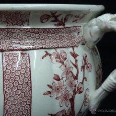 Antigüedades: ORINAL DE LOZA INGLESA , RIDGWAYS 1891- 1912. Lote 47410852
