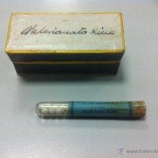 Antigüedades: GRÁNULOS DOSIMÉTRICOS CHANTEAUD. VALERIANATO DE ZINC. PRINCIPIOS DE SIGLO. FARMACIA. Lote 47414967