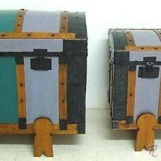 Antigüedades: PAREJA DE BAÚLES. Lote 47425804