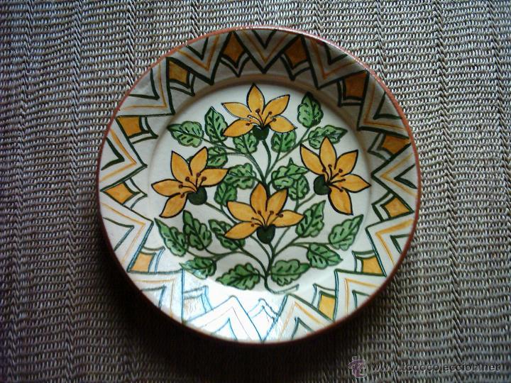 Plato de cer mica de redondo portugal firmado comprar Ceramica portuguesa online