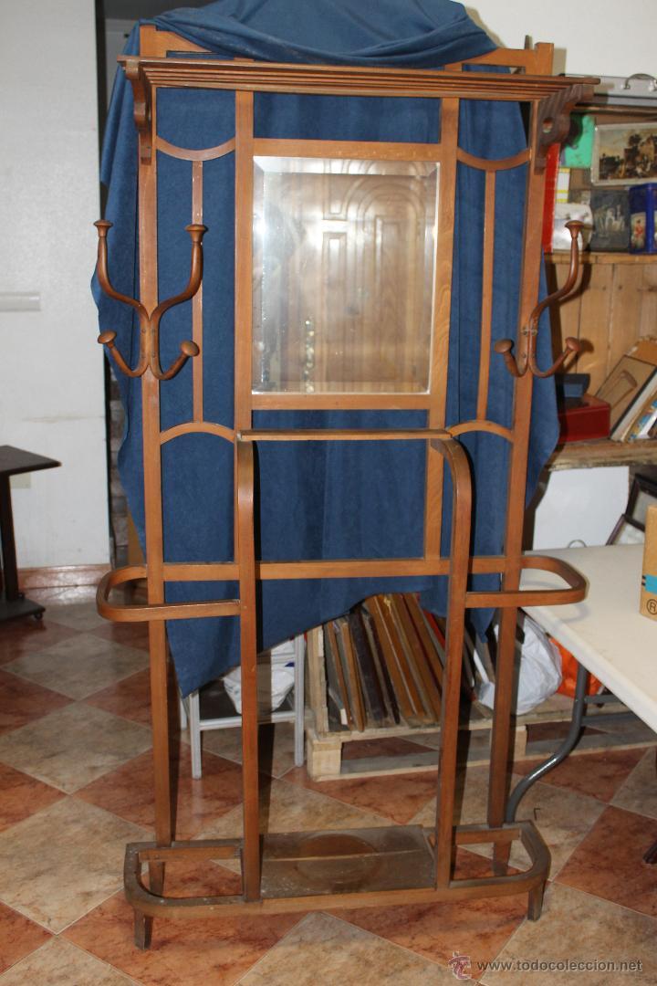 Mueble antiguo de entrada con espejo comprar aparadores for Aparadores con espejo