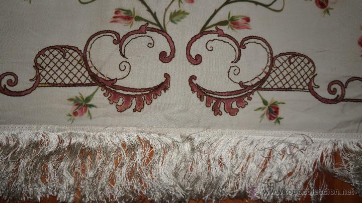 Antigüedades: FRONTAL DE ALTAR , PINTADO A MANO - Foto 6 - 47468799