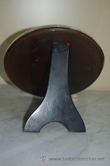 Antigüedades: Antiguo Espejo - Tocador - ART-DECO - Marco de Plata de Ley, con Contraste - Años 20 - Foto 4 - 47478187