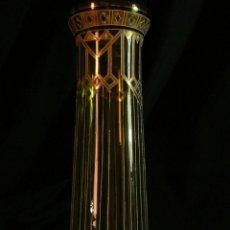 Antigüedades: ANTIGUO JARRON DE CRISTAL MODERNISTA. Lote 47493418