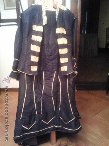 TRAJE DE EPOCA ANTIQUÍSIMO (Antigüedades - Moda y Complementos - Mujer)
