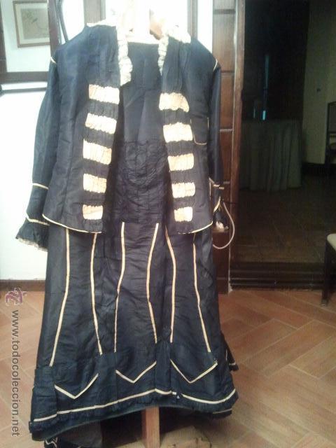 Antigüedades: TRAJE DE EPOCA ANTIQUÍSIMO - Foto 4 - 47493735