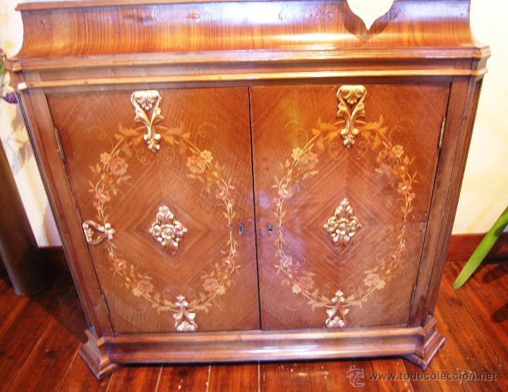 Antigüedades: Mueble tipo bargueño, siglo XVIII - Foto 2 - 47499914