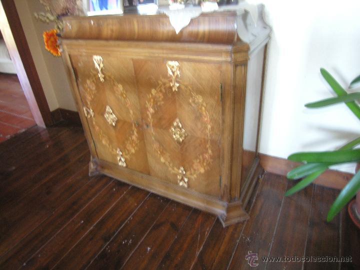 Antigüedades: Mueble tipo bargueño, siglo XVIII - Foto 3 - 47499914