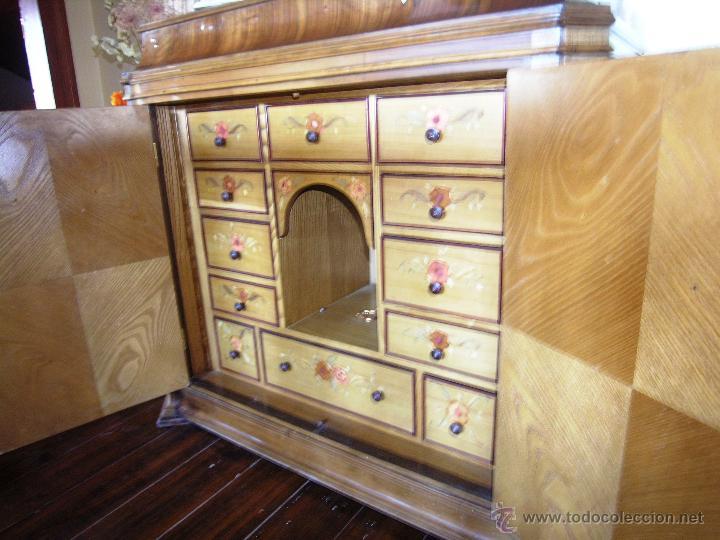 Antigüedades: Mueble tipo bargueño, siglo XVIII - Foto 4 - 47499914