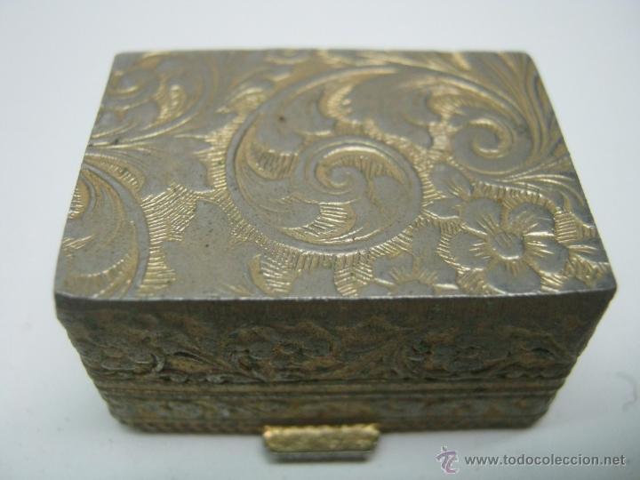 Antigüedades: Bella caja miniatura pastillero micro mosaico italiano - Foto 3 - 47511138