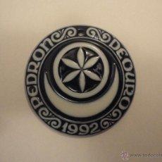 Antigüedades: MEDALLA DE SARGADELOS +++ PEDRÓN DE OURO +++ 1992. Lote 47525872