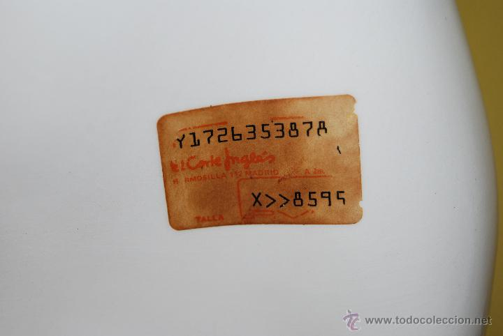 Antigüedades: LÁMPARA DE CERÁMICA DE MANISES - FIRMADA CHZ - AÑOS 80 - Foto 12 - 47545932
