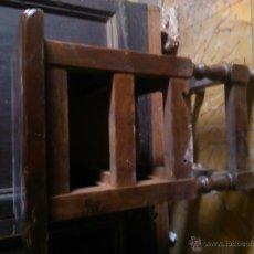 Antigüedades: PAR DE MESILLAS DE NOCHE SIN CAJONES. Lote 127847044