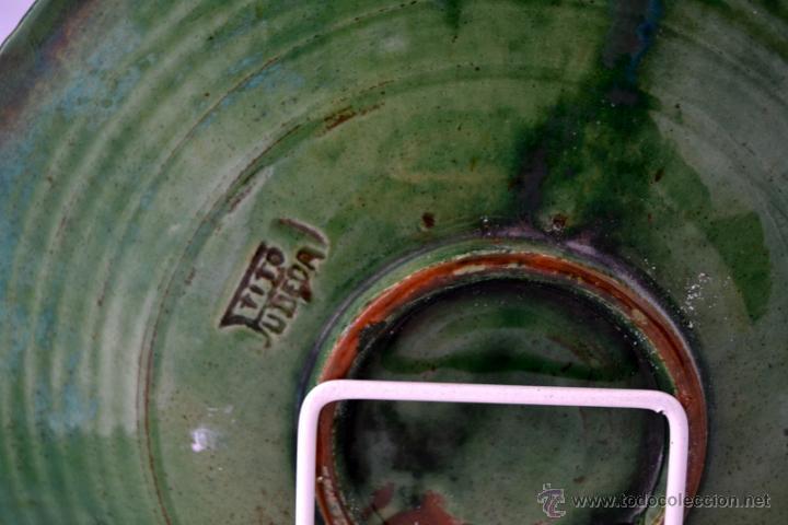 Antigüedades: PLATO DE CERAMICA VIDRIADA DE TITO UBEDA - Foto 7 - 47576303