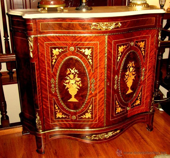 Maravilloso mueble entre dos comprar muebles auxiliares - Ver muebles antiguos ...