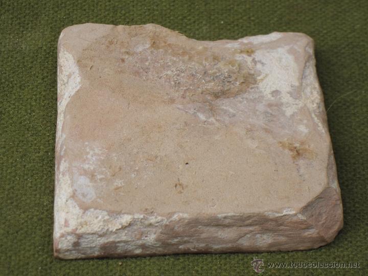 Antigüedades: AZULEJO ANTIGUO ( HOLAMBRILLA ). SEVILLA / TRIANA. SIGLO XVIII. - Foto 3 - 47580469