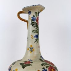 Antigüedades: JARRON EN CERAMICA DE TALAVERA (ESPAÑA). PINTADO A MANO. ALTURA: 51 CM.. Lote 47591586