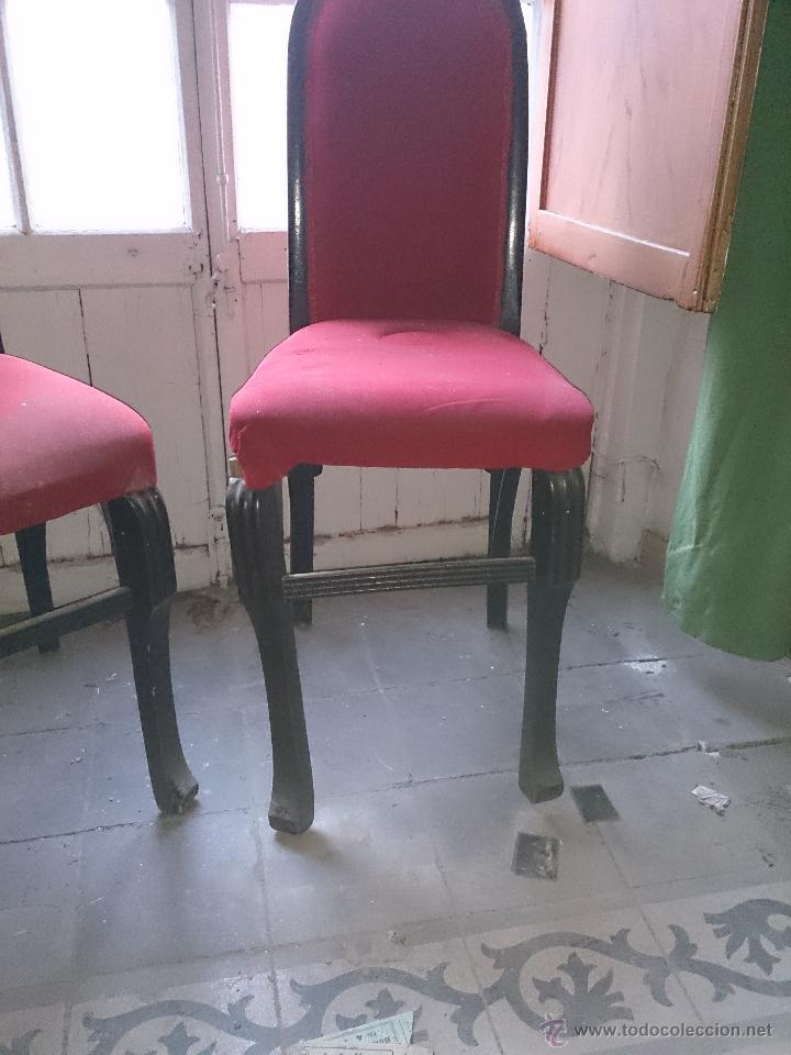 Antigüedades: sillas antiguas - Foto 2 - 47598232