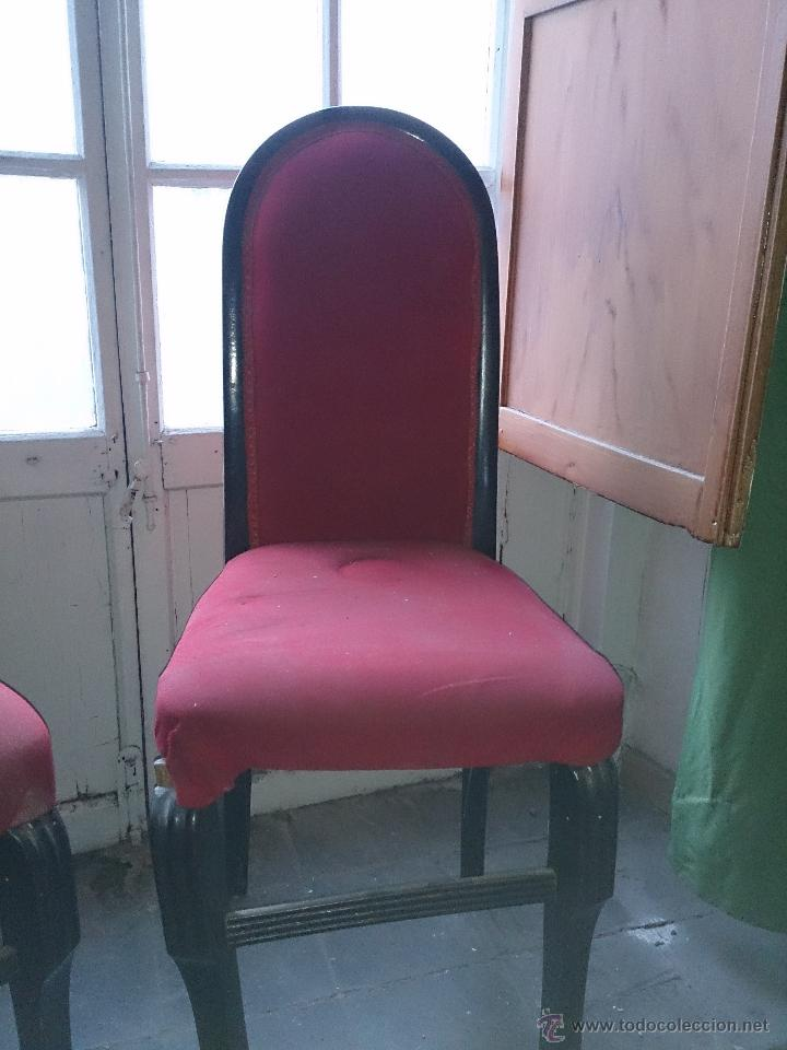 Antigüedades: sillas antiguas - Foto 3 - 47598232