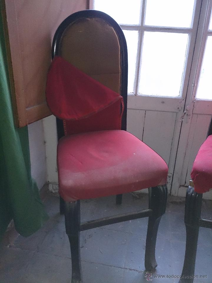 Antigüedades: sillas antiguas - Foto 4 - 47598232