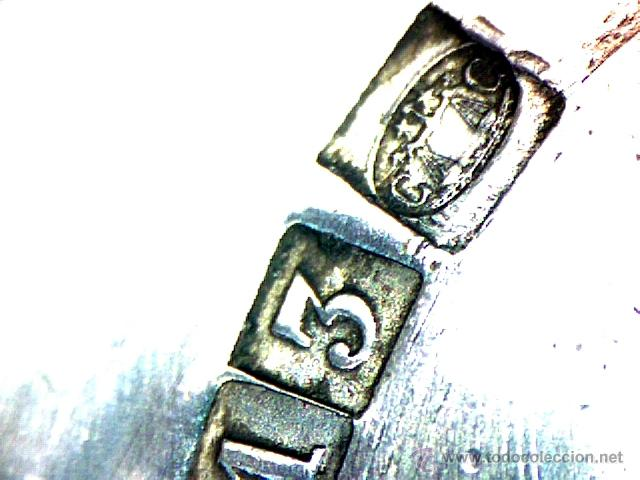 Antigüedades: CHRISTOFLE - PARÍS - BELLO SET DE 6 HUEVERAS - SELLADO Y NUMERADO - S. XIX - XX - Foto 21 - 47608366