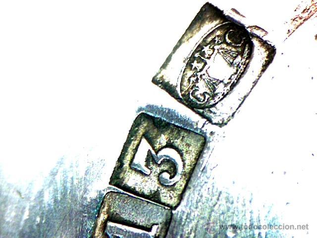 Antigüedades: CHRISTOFLE - PARÍS - BELLO SET DE 6 HUEVERAS - SELLADO Y NUMERADO - S. XIX - XX - Foto 22 - 47608366