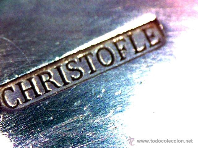 Antigüedades: CHRISTOFLE - PARÍS - BELLO SET DE 6 HUEVERAS - SELLADO Y NUMERADO - S. XIX - XX - Foto 23 - 47608366