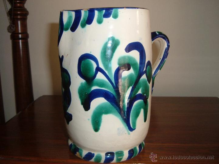 JARRA FAJALAUZA (Antigüedades - Porcelanas y Cerámicas - Fajalauza)