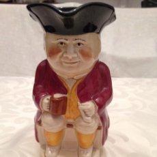 Antigüedades: JARRA TOBY JUG DE LA SERIE TONY WOOD. STUDIO ENGLAND. Lote 47628396