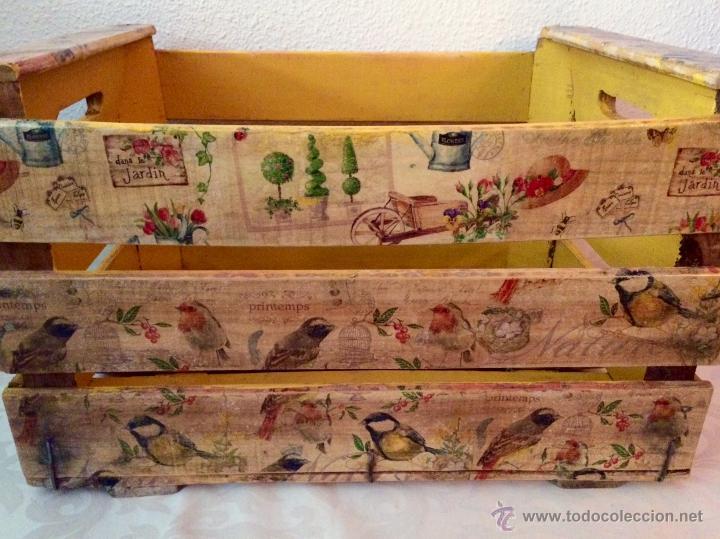 antigua caja de frutas decorada al estilo antig Comprar Cajas