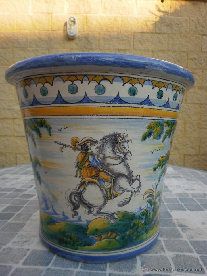 MACETÓN (Antigüedades - Porcelanas y Cerámicas - Talavera)