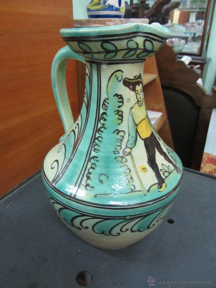JARRA PUENTE DEL ARZOBISPO (Antigüedades - Porcelanas y Cerámicas - Puente del Arzobispo )