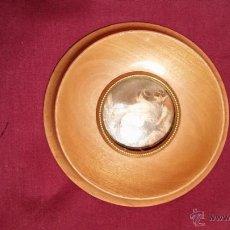 Antigüedades: MARCO REDONDO CON CRISTAL 12 CM. DIAM.. Lote 47675897